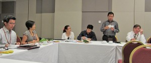 Members at BNI Gateway in Singapore take turns to list the generated business opportunities or referrals, as well as the value of each concluded contract.